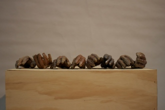 2″ x 4″ x 5″ (each); Stoneware