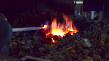 Heating in the forge