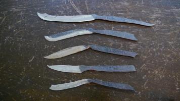 Carbon steel knives (work in progress)